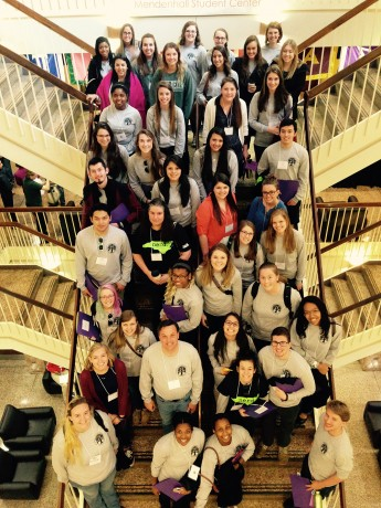 Students Present at Conference for Tutors Statewide