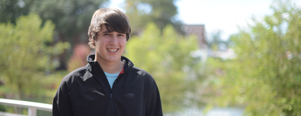 High Point University student Tyler Meagher