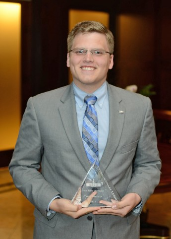 Class of 2014 Outcomes: Tyler Steelman Pursues the Path to Public Service