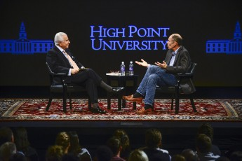 Conversations with HPU President Nido Qubein to Air Sundays on UNC-TV