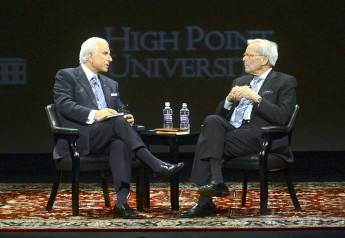 UNC-TV to Air: HPU Presents a Conversation with Tom Brokaw and Nido Qubein