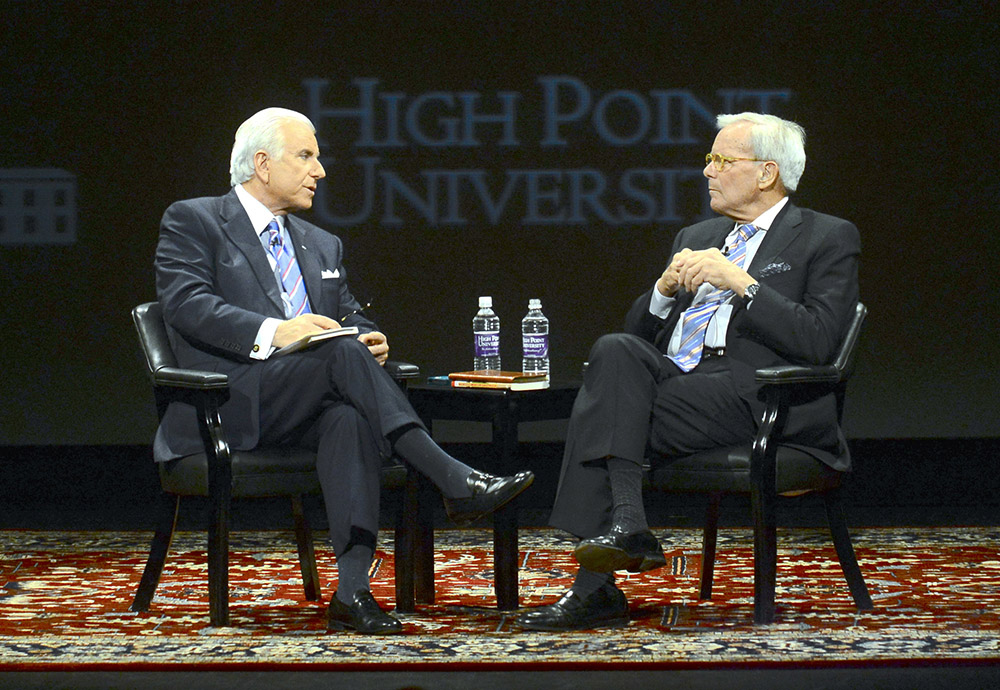 UNCTV Qubein and Brokaw