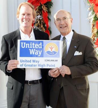 HPU Hits $200,000 Mark for United Way Campaign