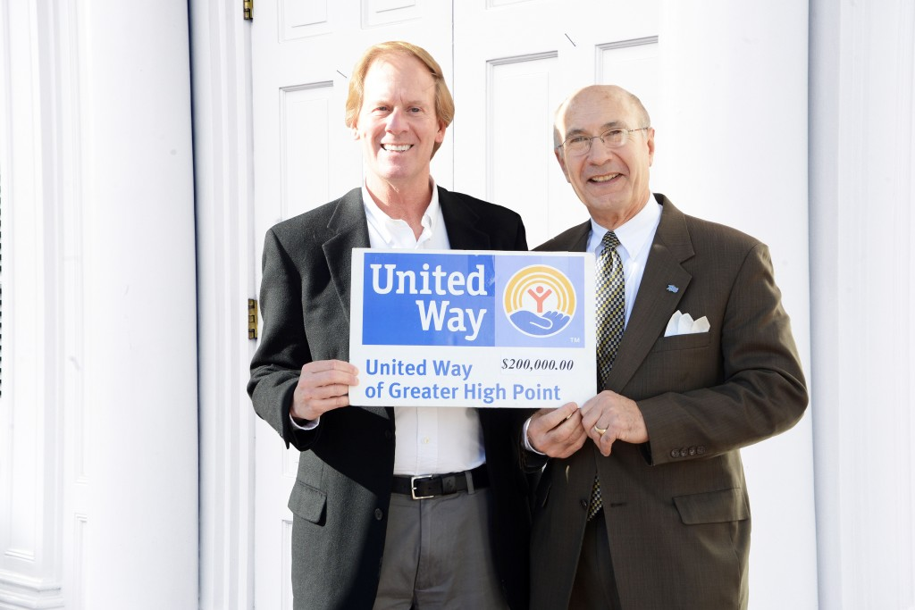 United Way Giving 200k