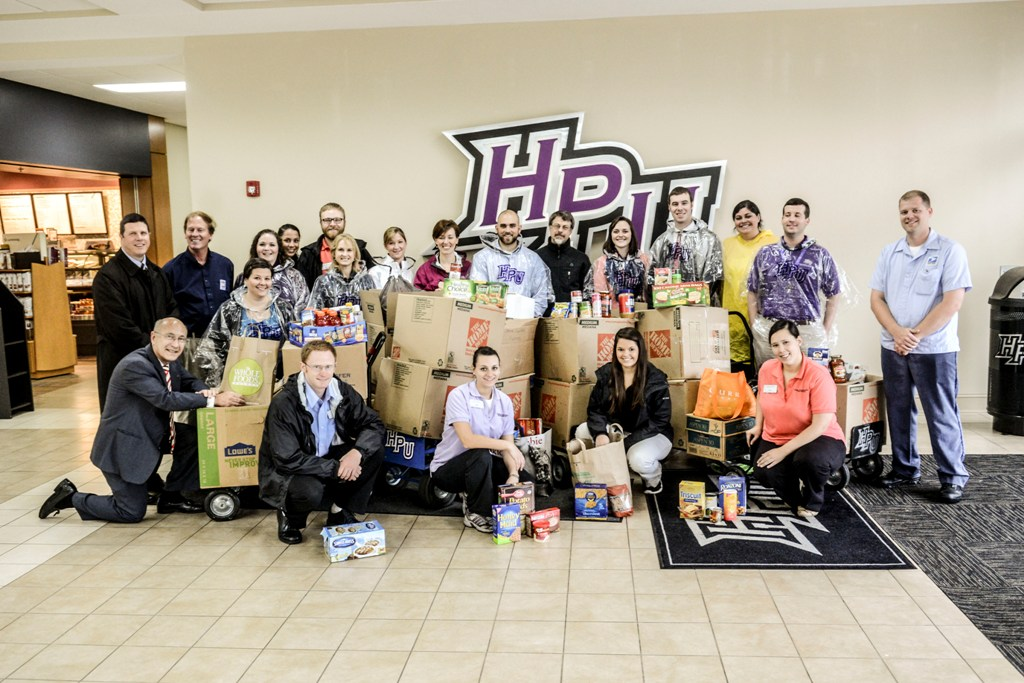 HPU High Point University United Way