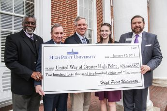 HPU Raises $240,000 for United Way Campaign