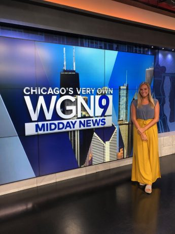 Internship Profile: Lexi Sanders Works at WGN, Tribune Media