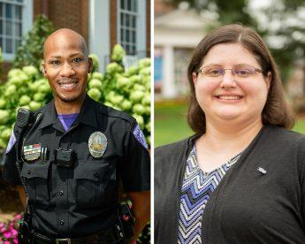 Two HPU Staff Members Receive Kahn Family Extraordinary Staff Award