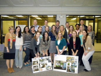 Interior Design Students Help Remodel VF Corporation Office