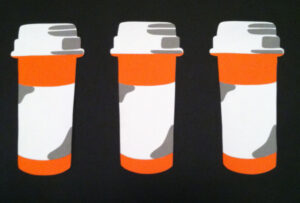 """Prescription Bottles"" by Rankin Willard"