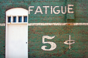 Fatigue, 5 cents, Salisbury, NC 5-2012