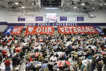 HPU Honors Hundreds of Veterans
