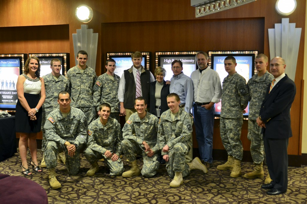 High Point University Veterans Day Film Viewing