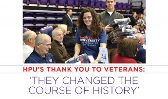 """HPUs Thank You To Veterans: """"They Changed the Course of History"""""""
