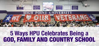 5 Ways HPU Celebrates Being a God, Family and Country School