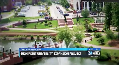 WBTV in Charlotte: HPU Announces $160 Million in
