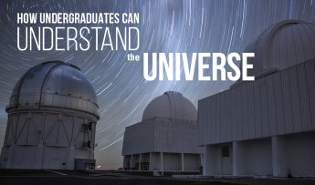 How Undergraduates Can Understand the Universe