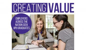 Creating Value: Employers across the Nation Prefer HPU Graduates