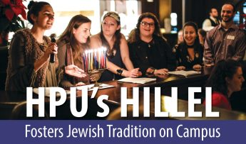 HPU's Hillel Fosters Jewish Tradition on Campus