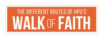The Different Routes of HPU's Walk of Faith