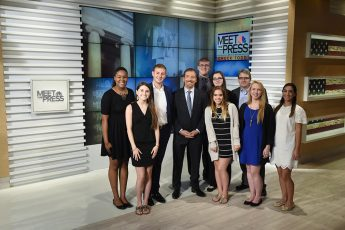 Students Learn from Political Professionals during D.C. 'Maymester'