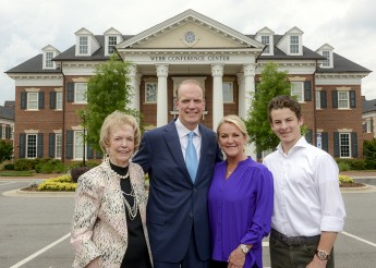 Webb Family Gives Generously to HPU
