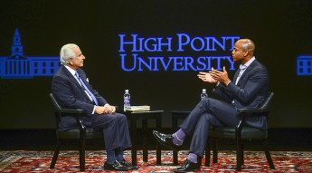 UNC-TV to Air 'HPU Presents: A Conversation with Wes Moore and Nido R. Qubein'