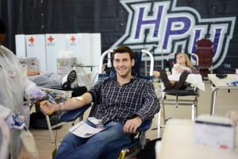 HPU Donates 71 Units at Winter Blood Drive