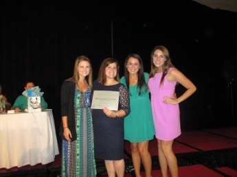 ZTA Sorority Honored at National Conference