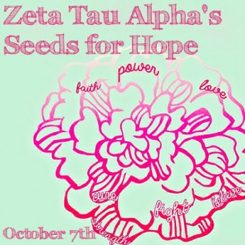 Sorority Invites Community to 'Think Pink by Going Green'