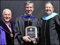 Professor Of Physics Receives Slane Distinguished Teaching-Service Award