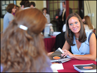 Accounting Students Attend Career Fair