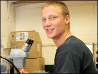 Biology Major Gets Scientific Research Experience Through Summer Internship