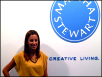 Student Finds Recipe for Success at Martha Stewart Internship
