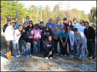 HPU Service Fraternity Helps The Community During National Service Week