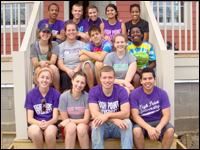 Service Fraternity Spends Spring Break Assisting Hurricane Victims in New Orleans