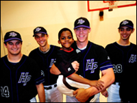 Big Brothers From HPU Baseball Team Take Part In Special Presentation