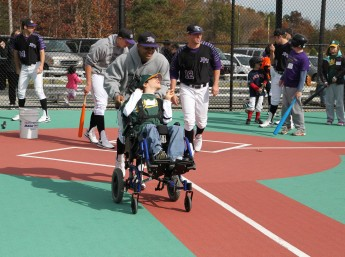 Baseball Team's Work at Miracle League Featured on Fox 8