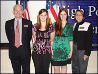 Students Receive Ollie Bieniemy Jr. Endowed Scholarship