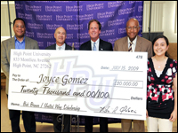 HPU Freshman Joyce Gomez Receives United Way's Bob Brown Scholarship