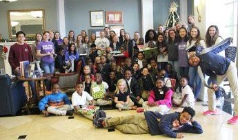 The Gift of Reading: HPU Book Buddies Enjoy Holiday Celebration