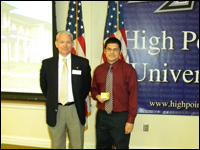 HPU Student Receives Richard P. Budd Distinguished Business Student Award