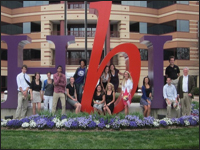 HPU Students See Global Economics In Action During Hanes Brands Tour