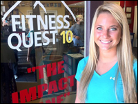Student Exercises Marketing Skills At One Of Top 10 Gyms In America