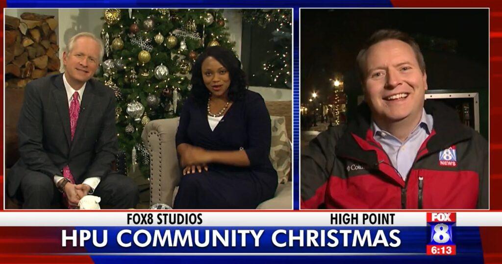 WGHP: HPU's Community Christmas from the Polar Express Train