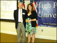 HPU Student Honored With Dr. George S. Erath Distinguished Student Award