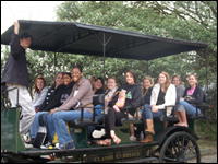 HPU Interiors And Home Furnishings Club Takes Educational Trip To Charleston, S.C.