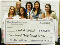 Panhellenic Council Donation Will Send 127 Girls to School for One Year