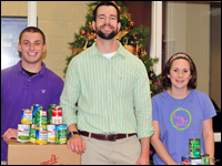 HPU Holds Canned Food Drive to Benefit Salvation Army