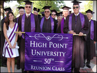 Class of 1961 Celebrates 50th Reunion, Paritipates In Commencement Activities